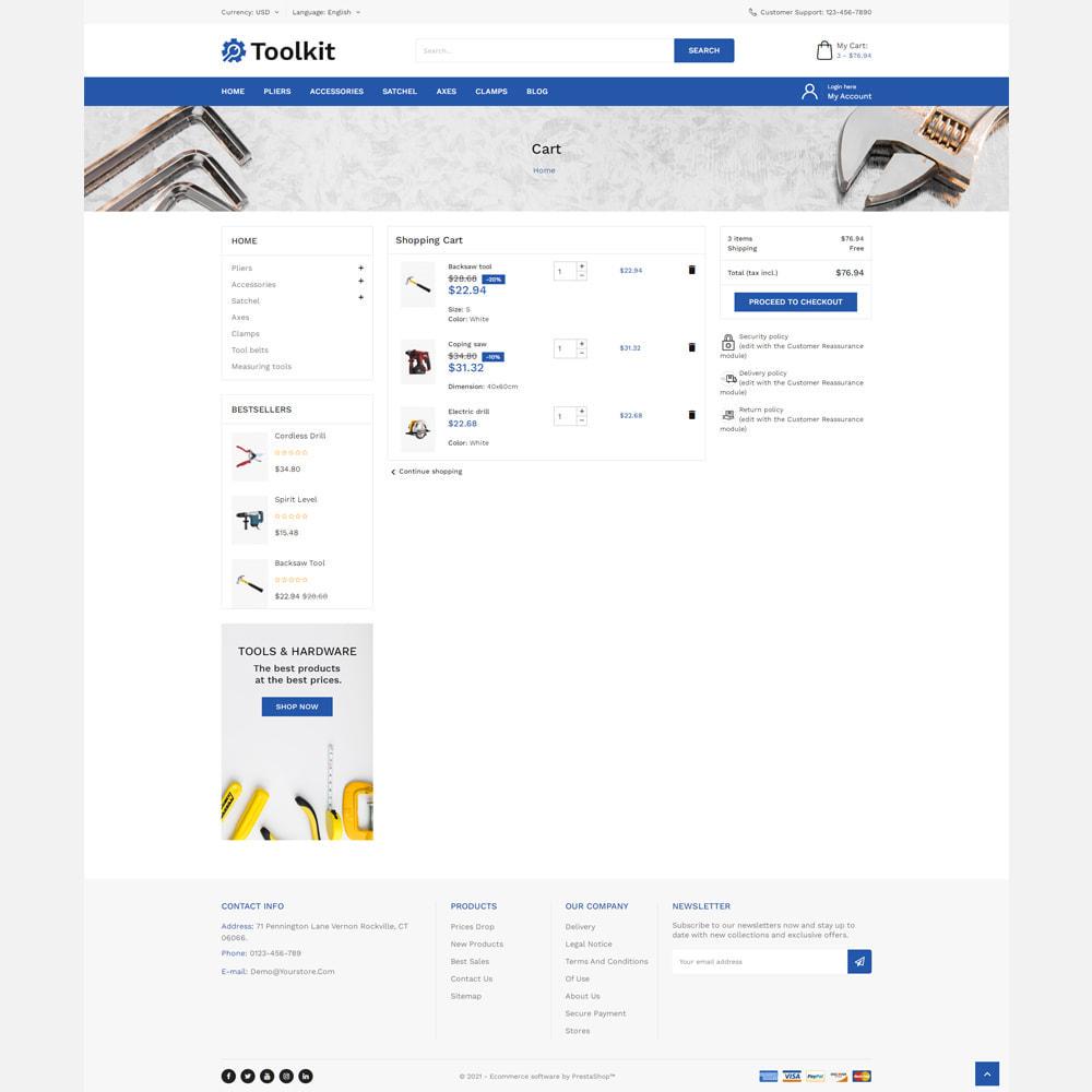 theme - Automotive & Cars - Toolkit Store - 6