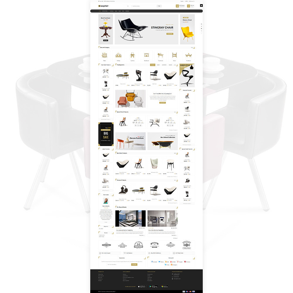 theme - Dom & Ogród - Wayfair Furniture  - Furniture Shop - 2