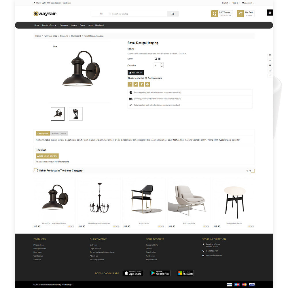 theme - Casa & Jardins - Wayfair Furniture  - Furniture Shop - 5