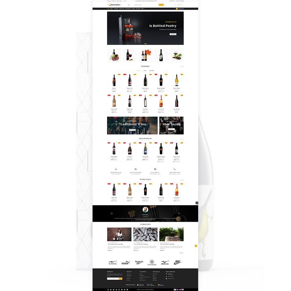 theme - Napoje & Wyroby tytoniowe - Weinladen - The Wine International Shop - 2