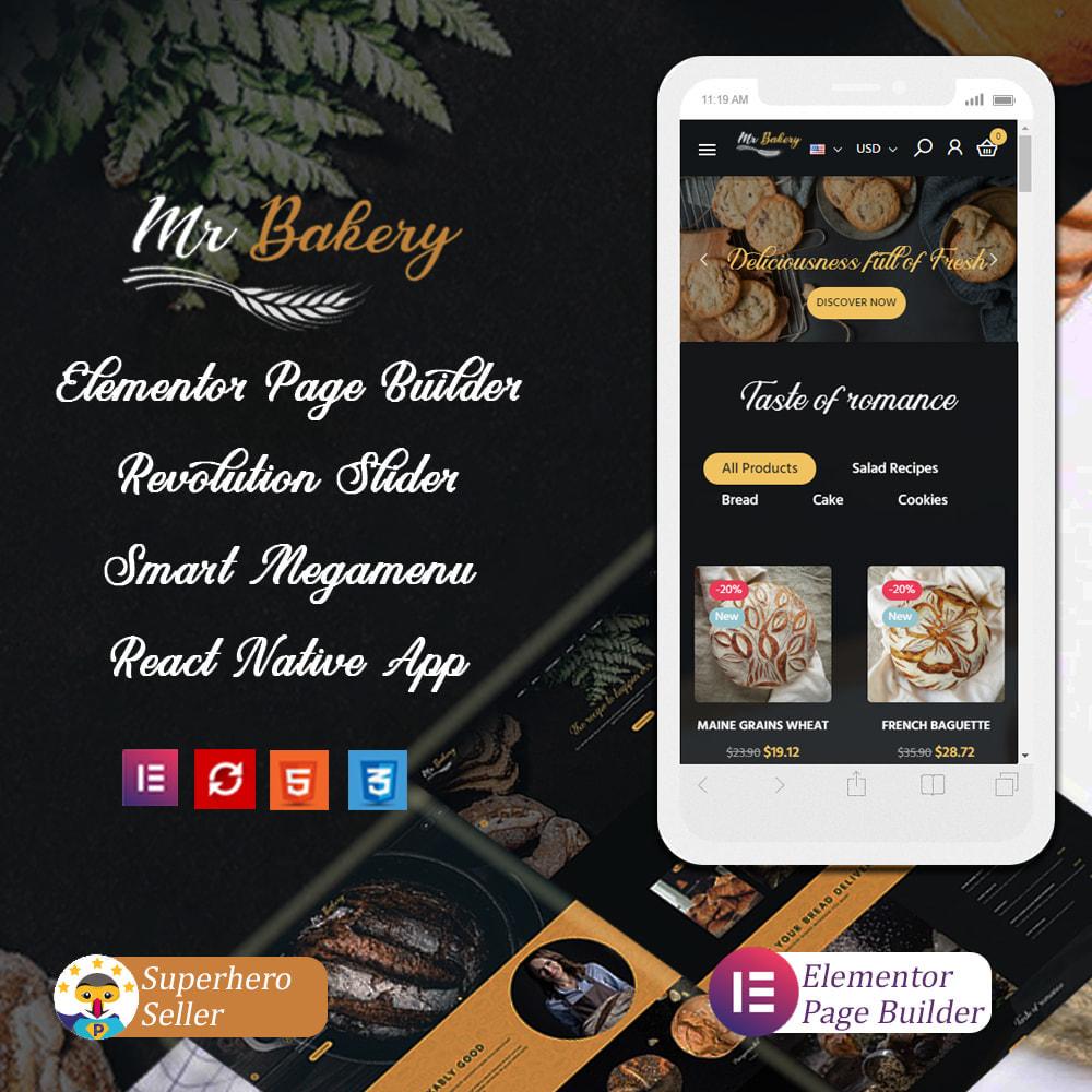 theme - Cibo & Ristorazione - Bakeyri - Bread & Food Restaurant Store - 1