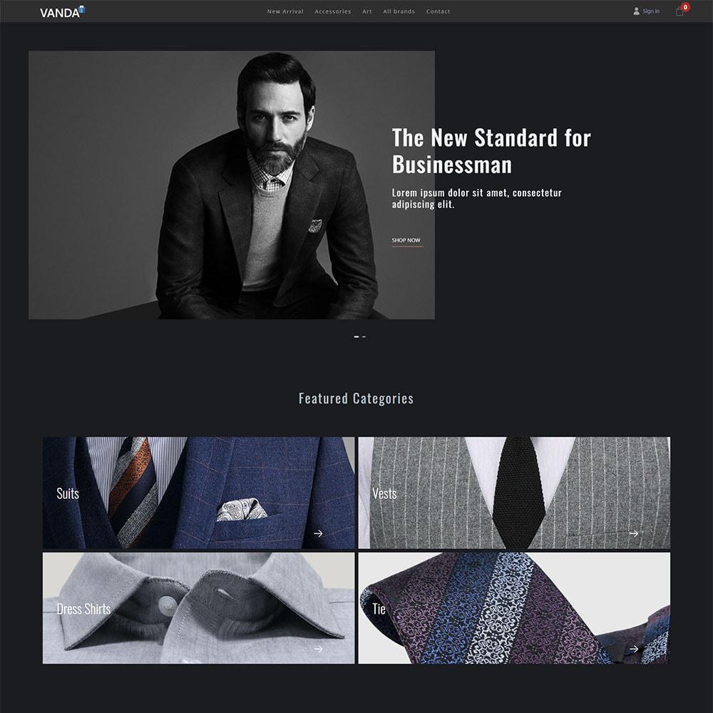 theme - Fashion & Shoes - Vanda Suit Shop - 2