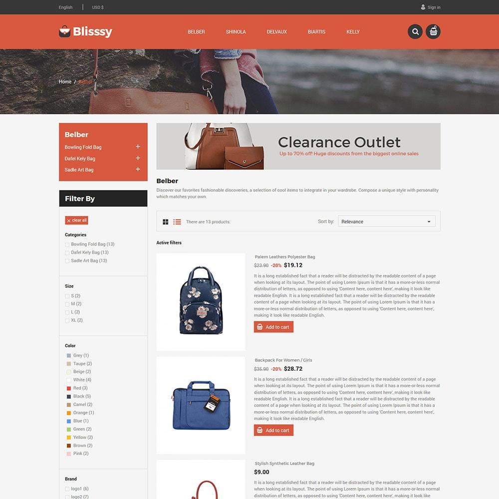 theme - Mode & Chaussures - Blissy Bag - Magasin d'accessoires pour sacs à main - 4
