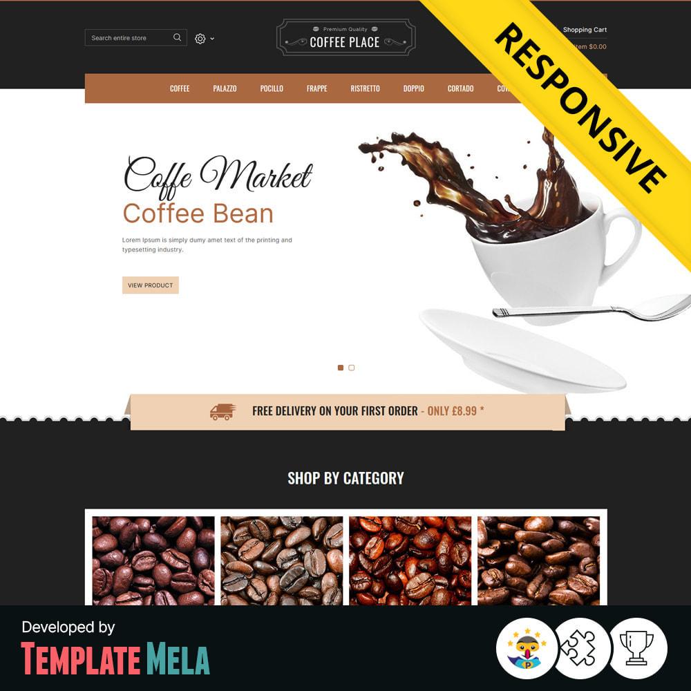 theme - Cibo & Ristorazione - Coffee Place - Coffee & Cake Shop - 1
