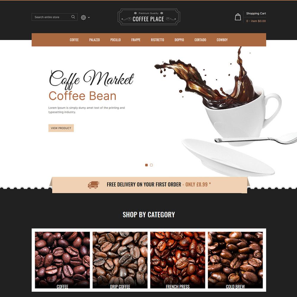 theme - Cibo & Ristorazione - Coffee Place - Coffee & Cake Shop - 2