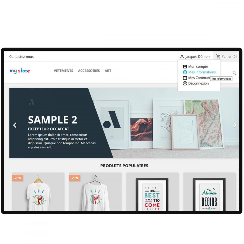 module - Customer Administration - Sign in Premium - 5