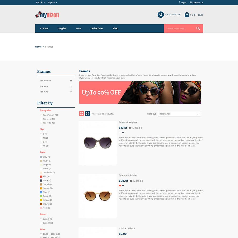 theme - Biżuteria & Akcesoria - Myvizion Eyecare - Sklep z soczewkami okularów - 5