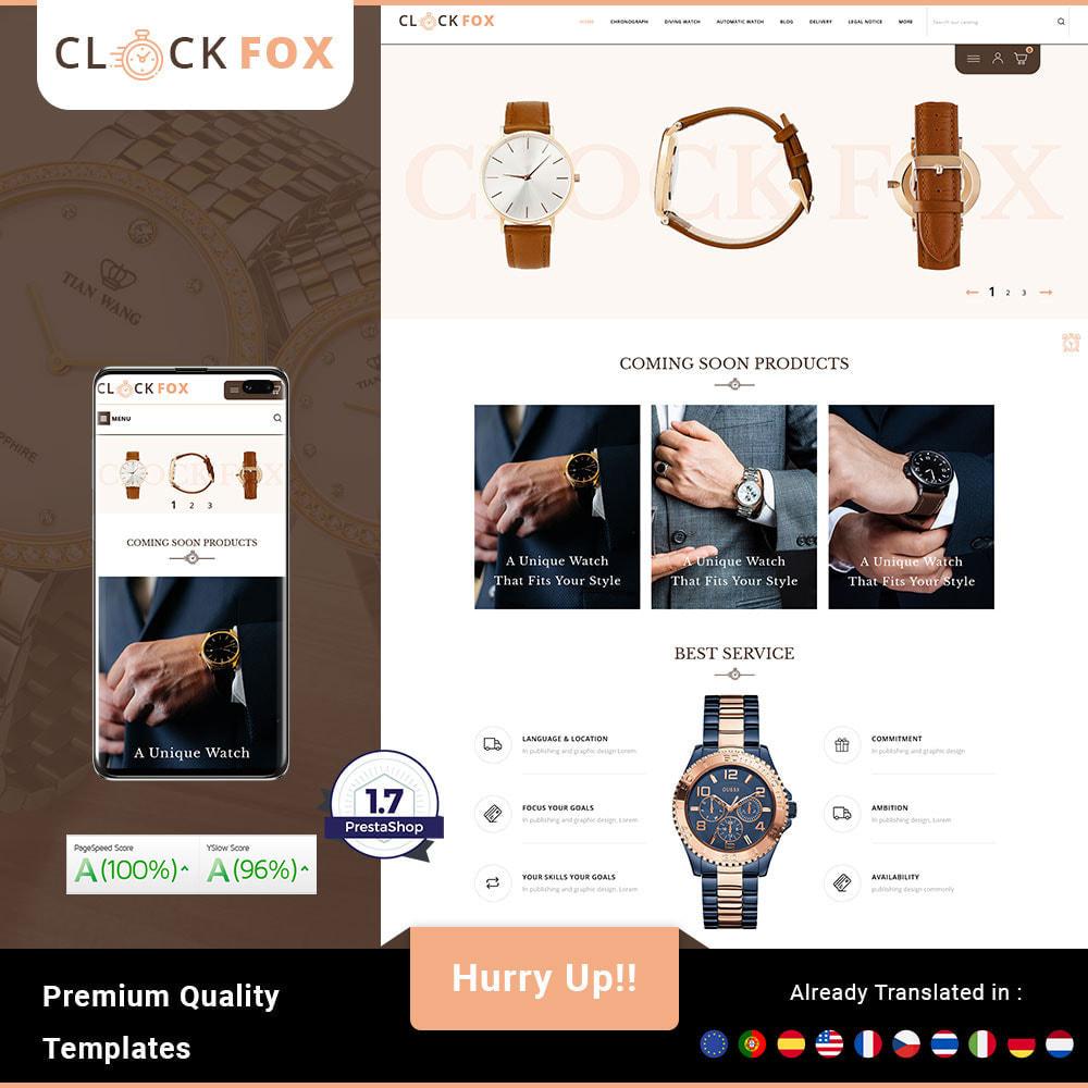 theme - Joalheria & Acessórios - Clockfox - Watch Store - 1