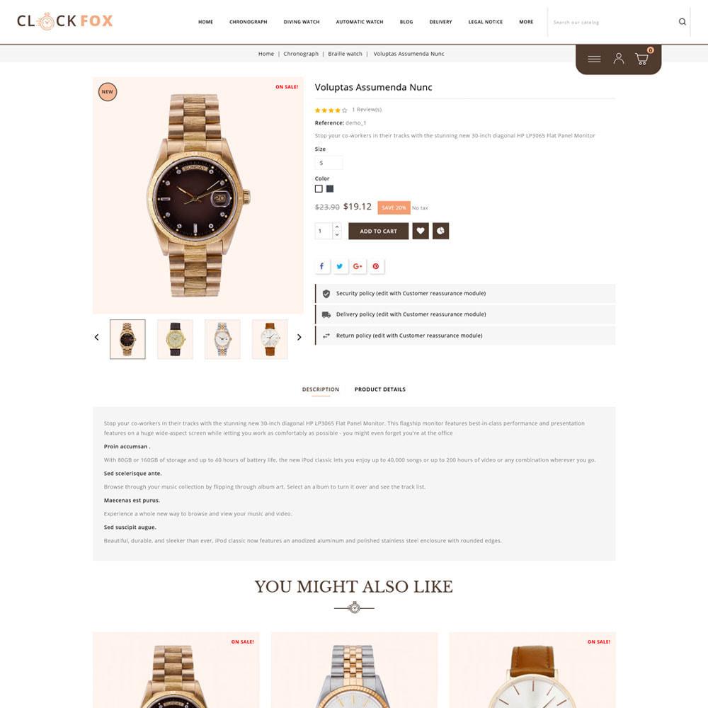 theme - Joalheria & Acessórios - Clockfox - Watch Store - 5