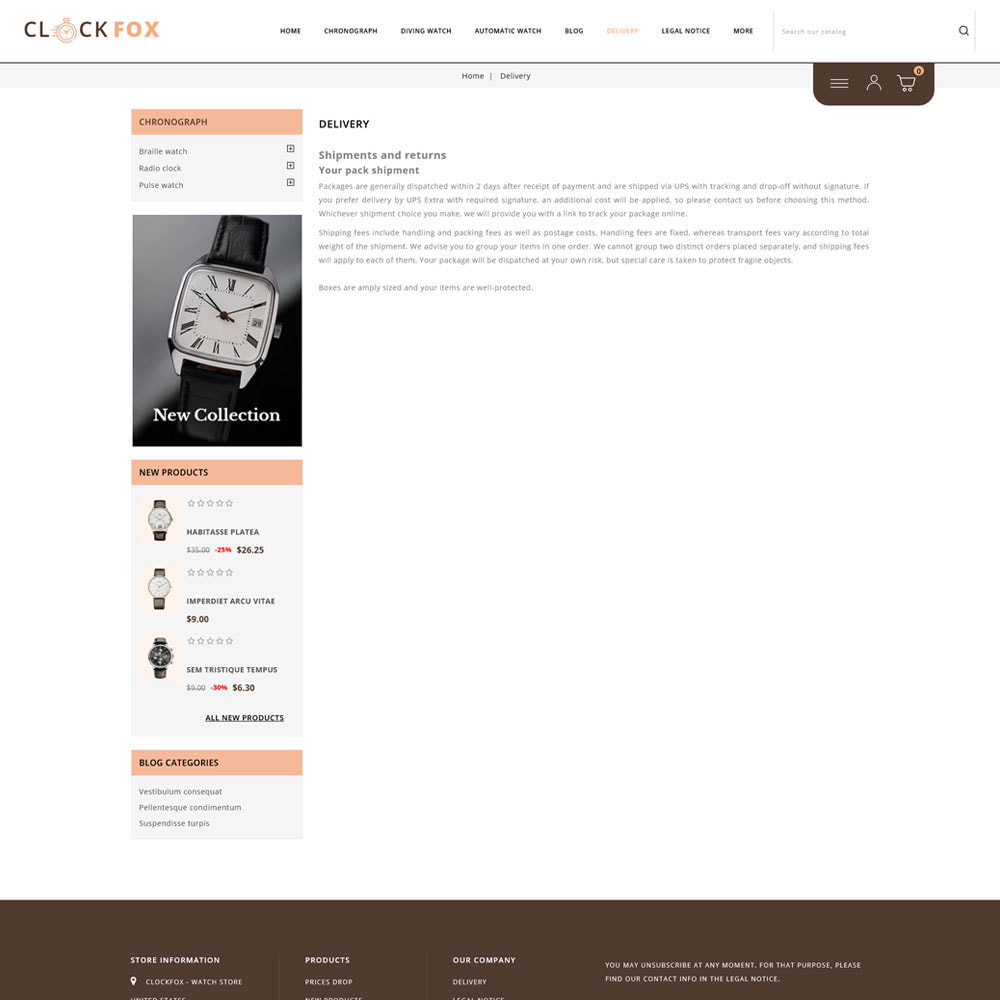 theme - Joalheria & Acessórios - Clockfox - Watch Store - 8