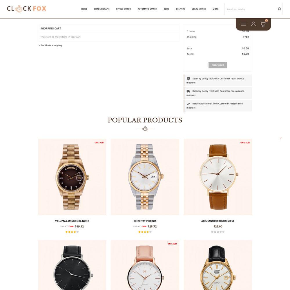 theme - Joalheria & Acessórios - Clockfox - Watch Store - 9