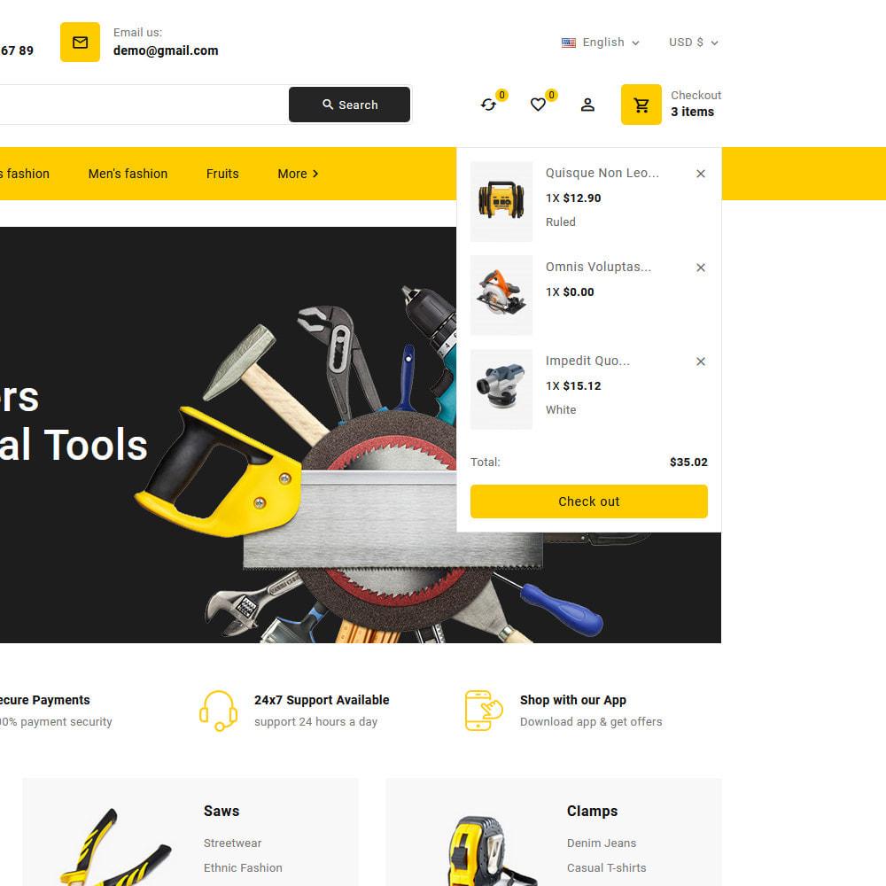 theme - Electronics & Computers - Toolkit - Mega Tools Store - 13
