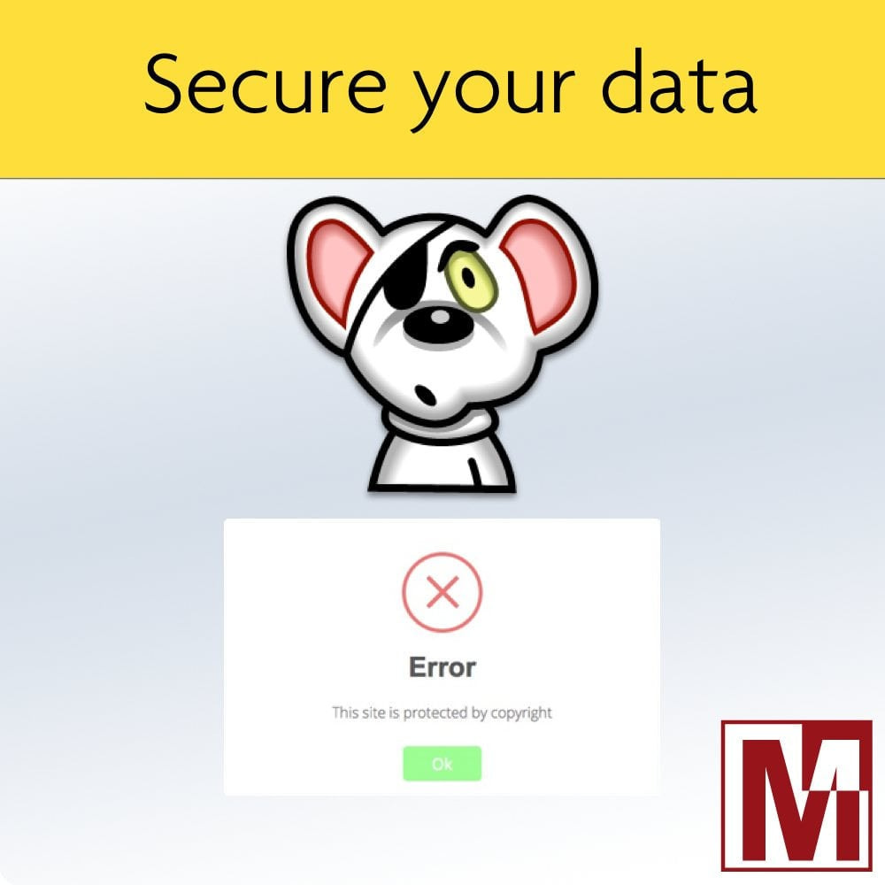 module - Security & Access - Prohibit right-click and secure data - 1