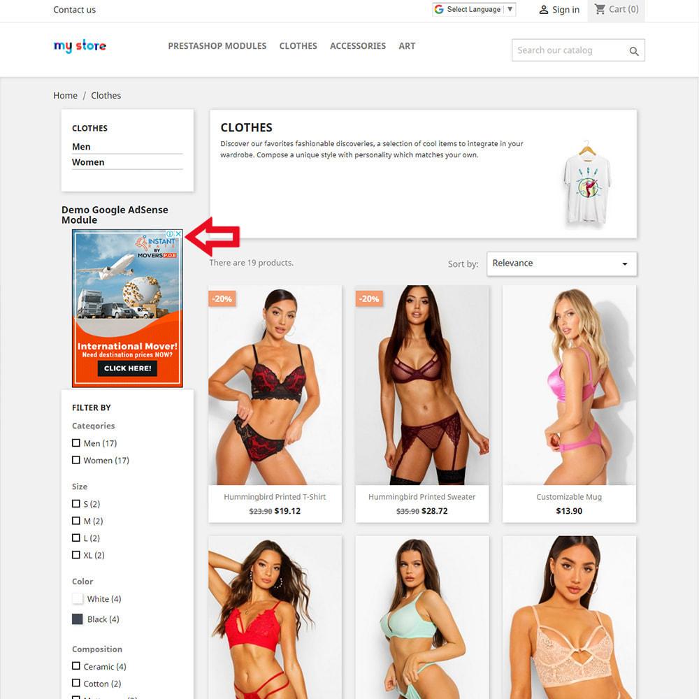 module - Promotions & Marketing - Google AdSense Ads Integration - 2