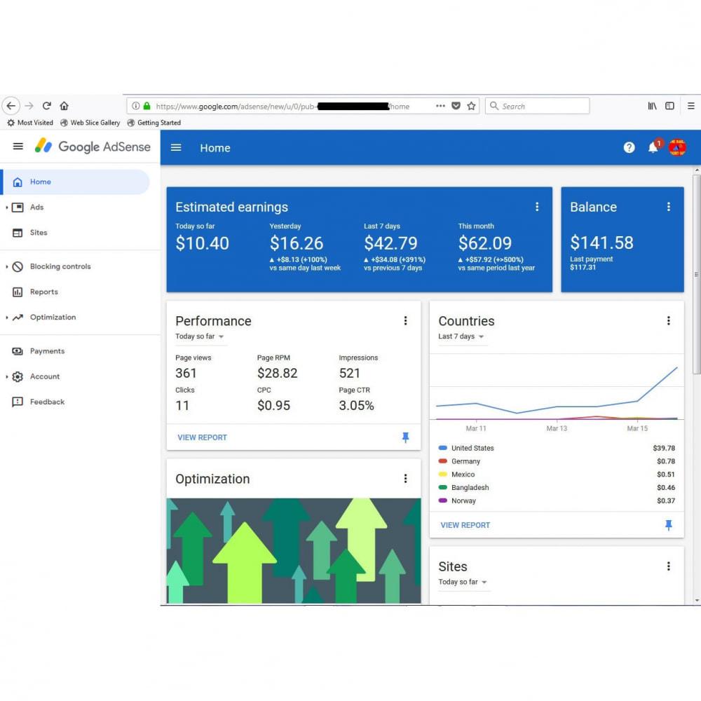 module - Promotions & Marketing - Google AdSense Ads Integration - 5