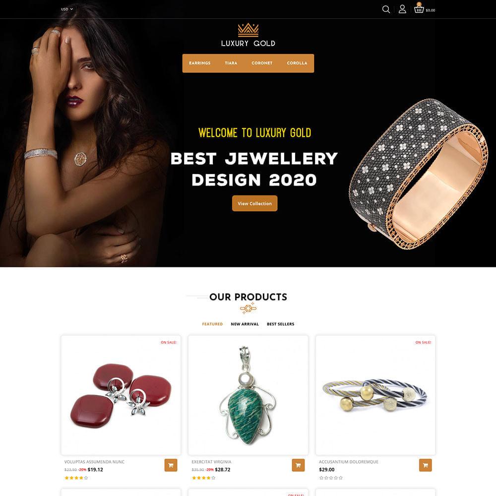 theme - Schmuck & Accesoires - Luxury gold - Jewellery Store - 2