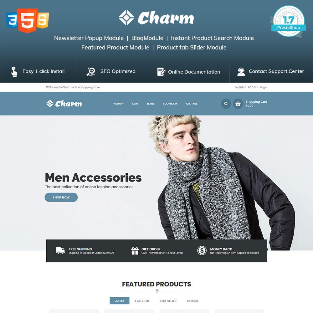 theme - Mode & Chaussures - Charm Fashion - Boutique de créateurs de vêtements - 2