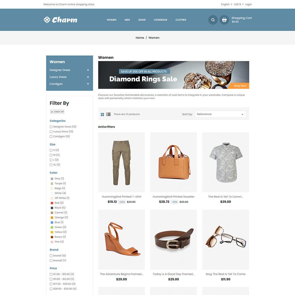 theme - Mode & Chaussures - Charm Fashion - Boutique de créateurs de vêtements - 4