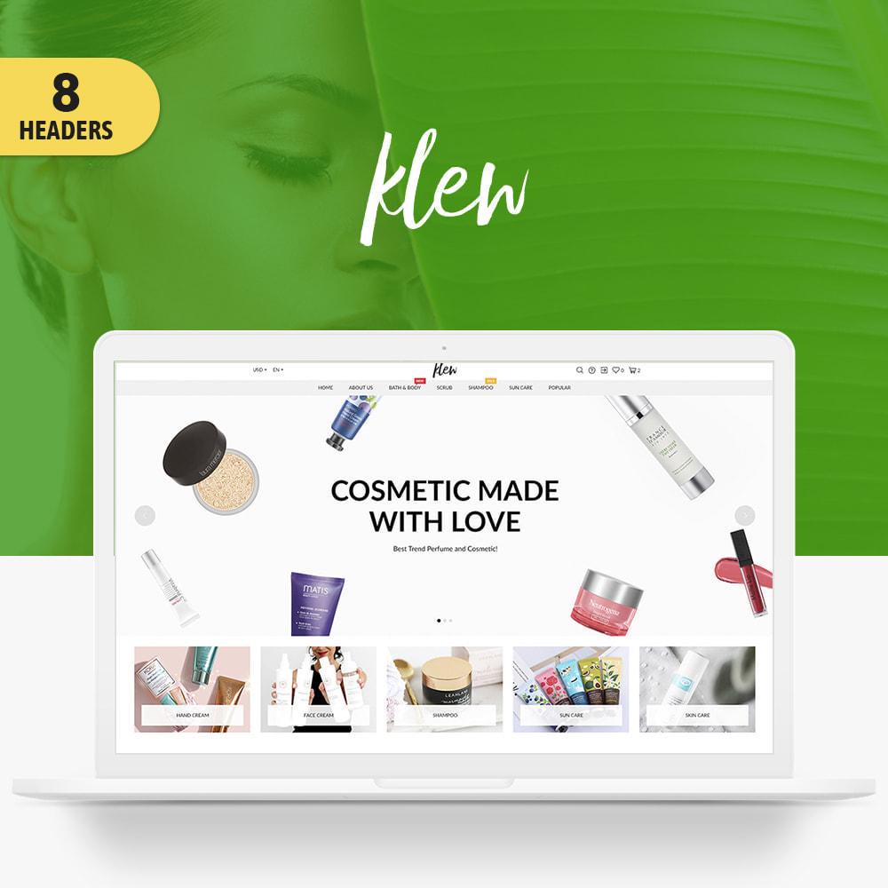 theme - Health & Beauty - Klew Cosmetics - 1