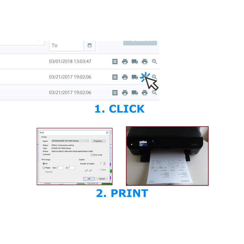 module - Contabilidade & Cobrança - Easy & Mass Printing - Invoice & Slips - DirectPDFPrint - 1