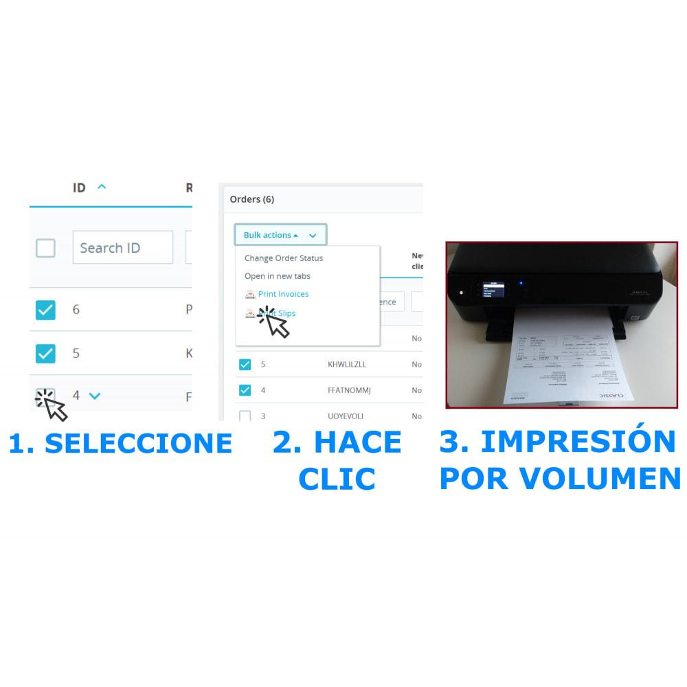 module - Contabilidad y Facturas - Impresión fácil y en volumen: Facturas y albaranes--DPP - 2