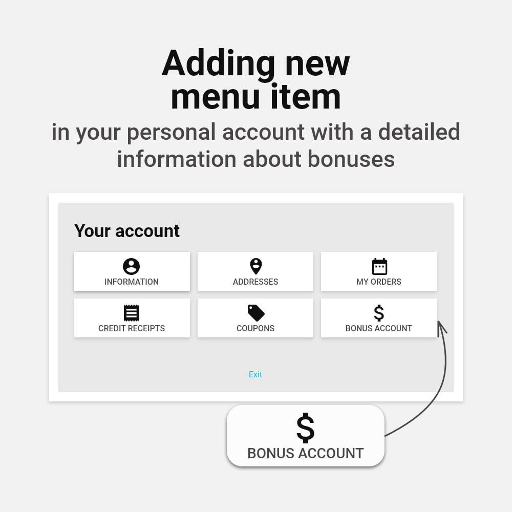 module - Empfehlungs- & Kundenbindungsprogramme - Bonus cashback sustem - 10