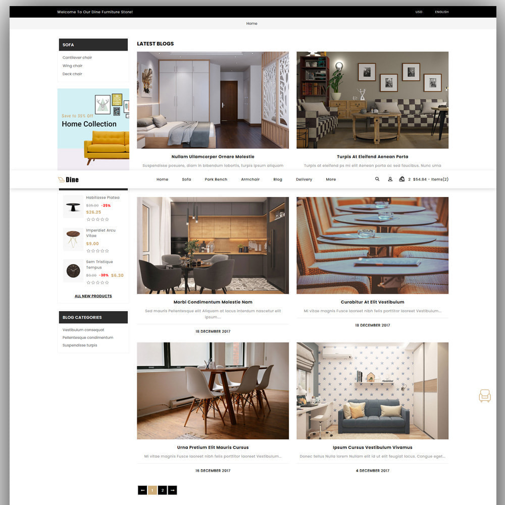 theme - Heim & Garten - Dine - Furniture Store - 7