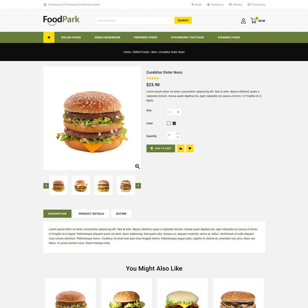 theme - Eten & Restaurant - Food Park - Food & Restaurant Store - 4