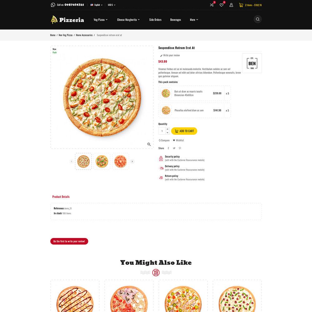 theme - Cibo & Ristorazione - Pizzeria - Pizza Fast Food Restaurant - 9