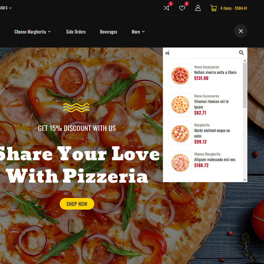 theme - Cibo & Ristorazione - Pizzeria - Pizza Fast Food Restaurant - 15