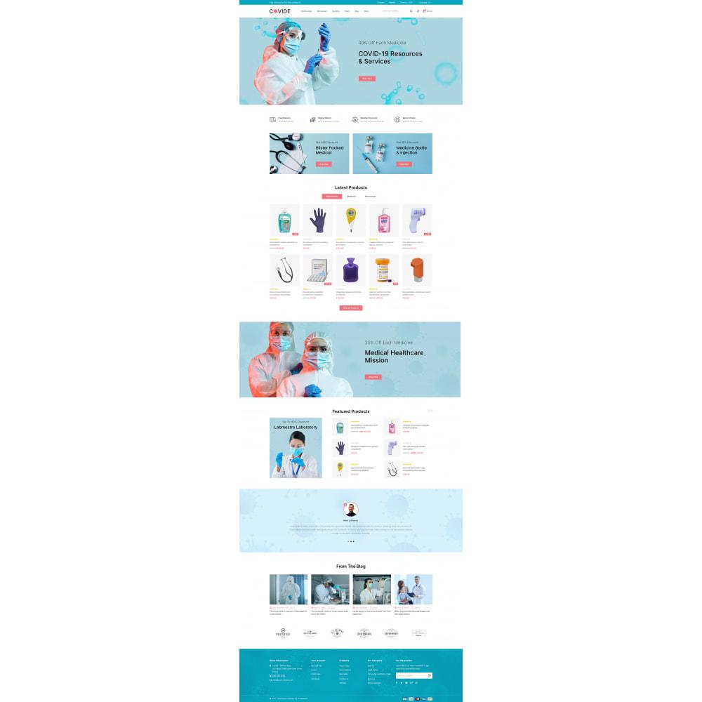 theme - Health & Beauty - Covide - Health & Drugs Store - 2