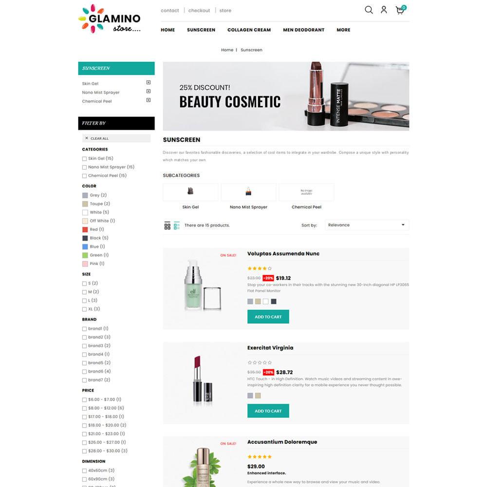 theme - Salute & Bellezza - Glamino - Cosmetic Store - 5
