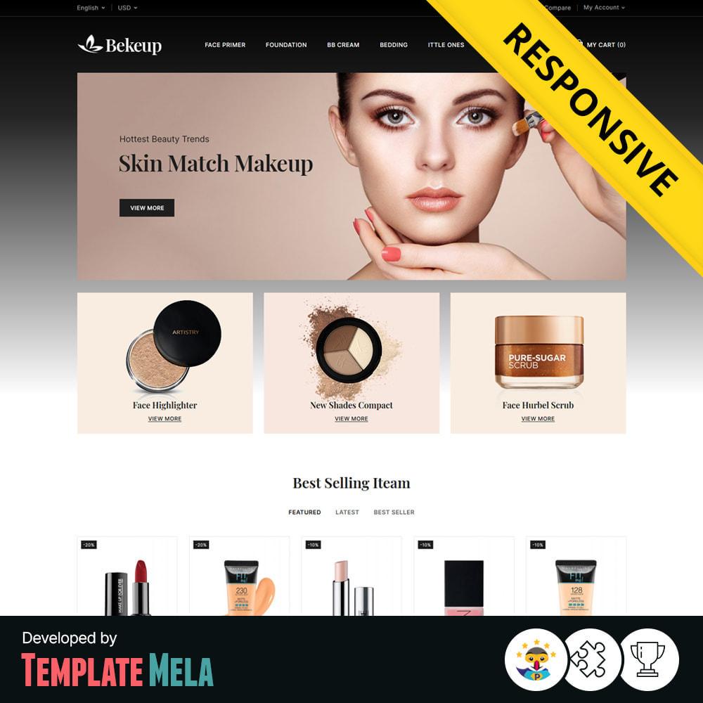 theme - Здоровье и красота - Bekeup Cosmetics & Beauty Store - 1