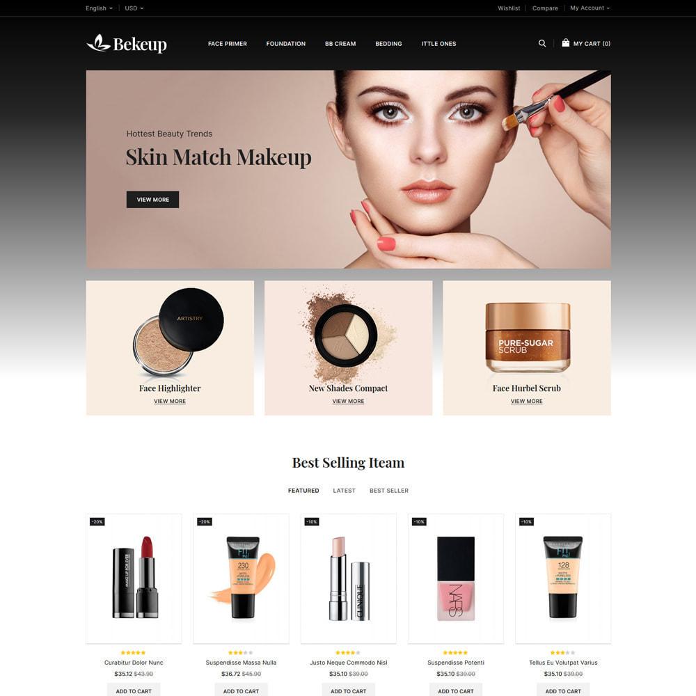 theme - Gezondheid & Schoonheid - Bekeup Cosmetics & Beauty Store - 2