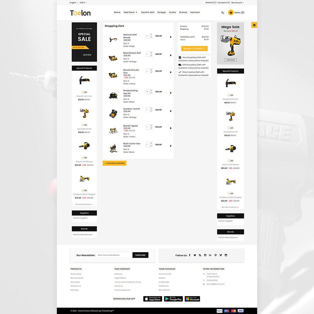 theme - Autos & Motorräder - Toolon Mega Tools Super Store - 3