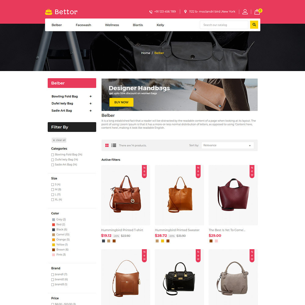 theme - Mode & Chaussures - Betttor Bag - Magasin de sacs de voyage en cuir - 4