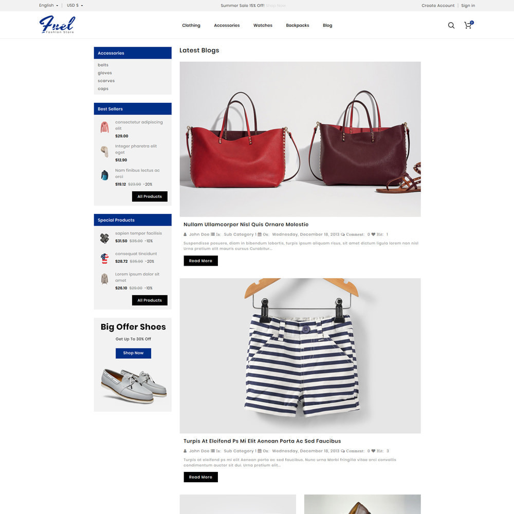 theme - Mode & Schuhe - Fuel - Fashion Shop - 5