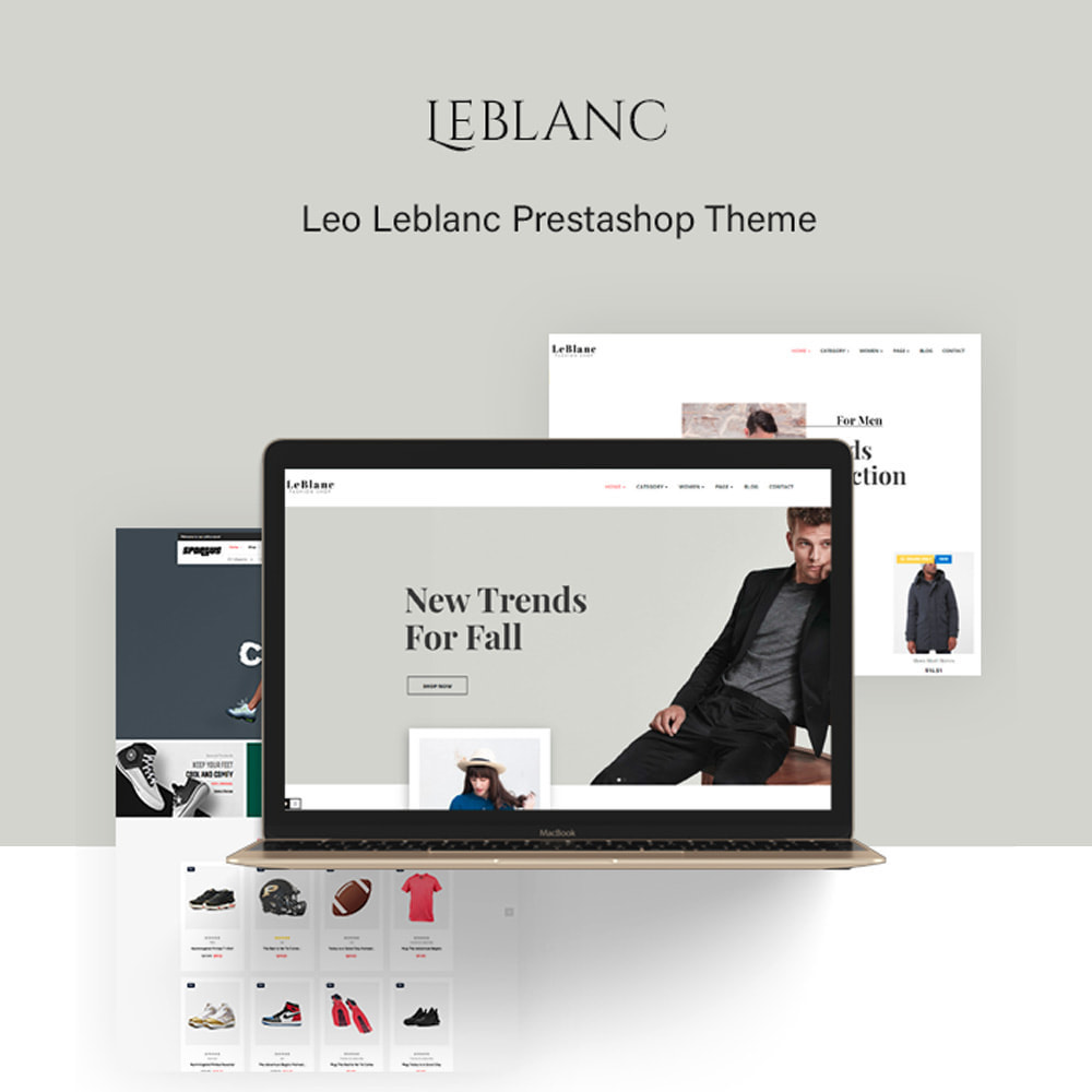 theme - Moda & Calzature - Ap Leblanc - 1