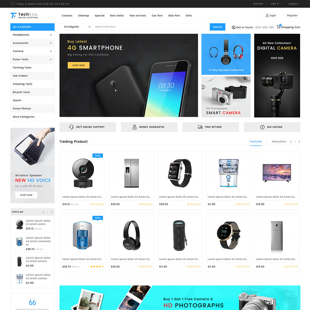 theme - Eletrônicos & High Tech - TechEco  - The Online Shopping - 9