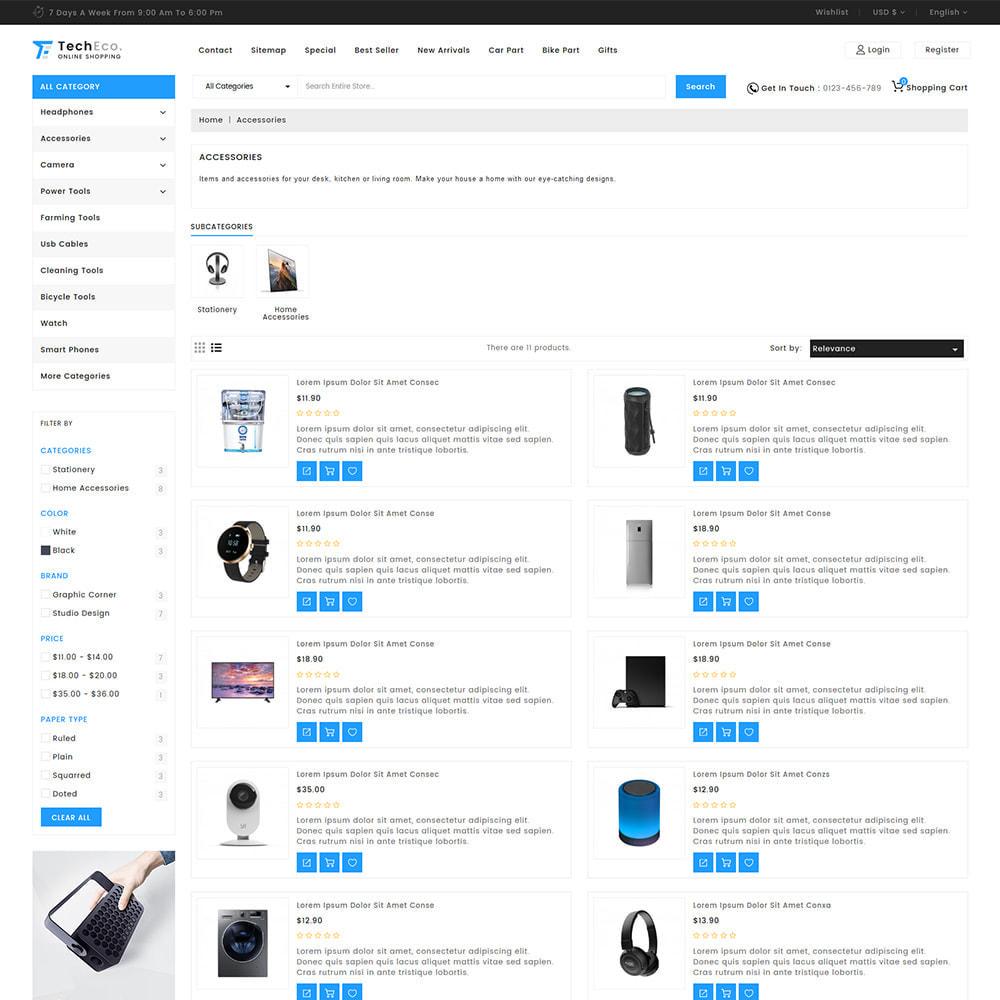theme - Elettronica & High Tech - TechEco  - The Online Shopping - 11