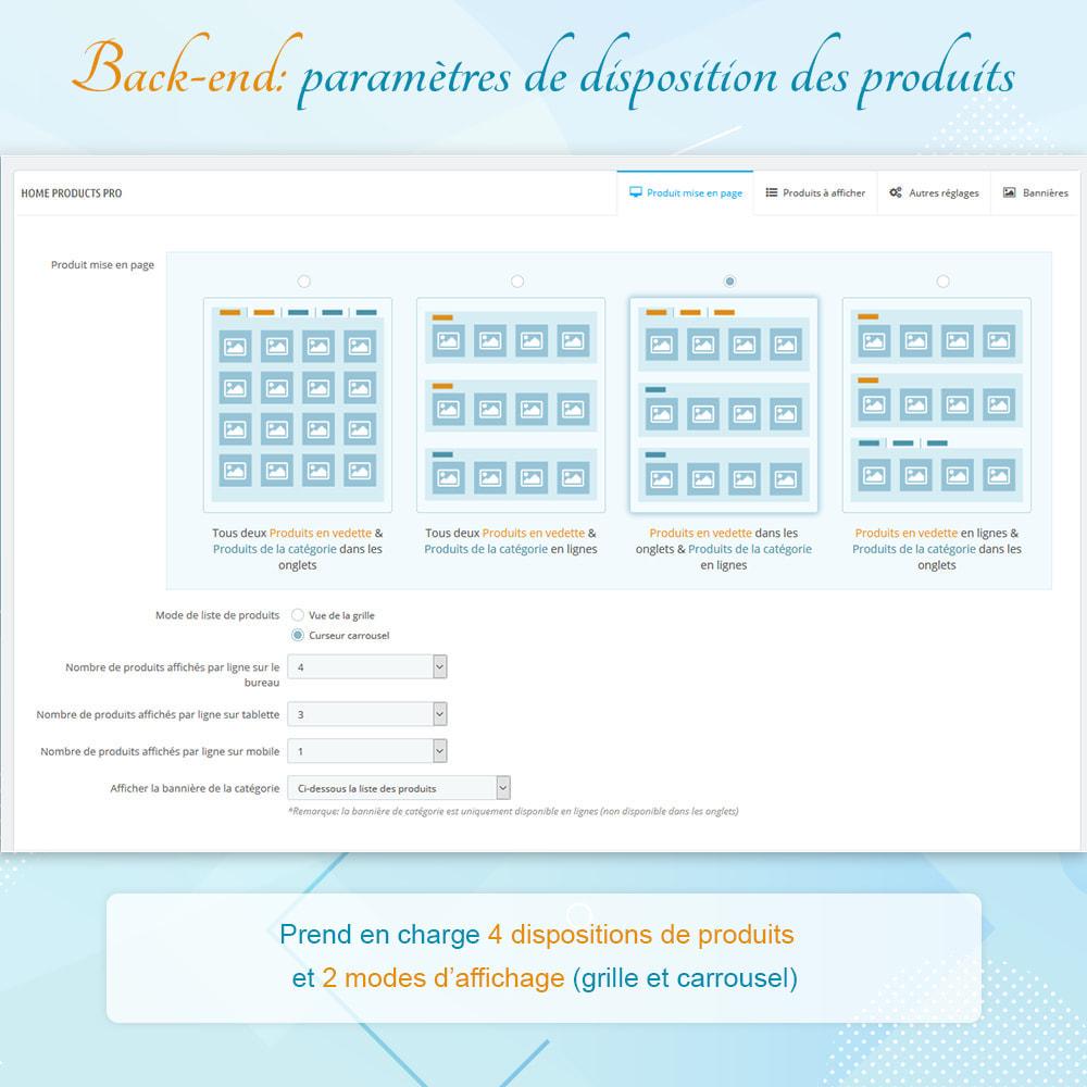 module - Produits en page d'accueil - Home Products PRO - Listes produit personnalisables - 6