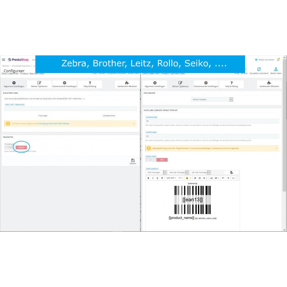 module - Voorbereiding & Verzending - Product/Barcode Labels & Etiketten - DirectLabelPrint - 7