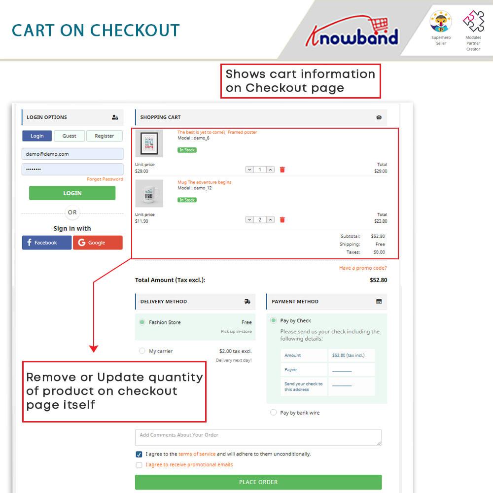 module - Bestelproces - One Page Checkout, Social Login & Mailchimp - 6