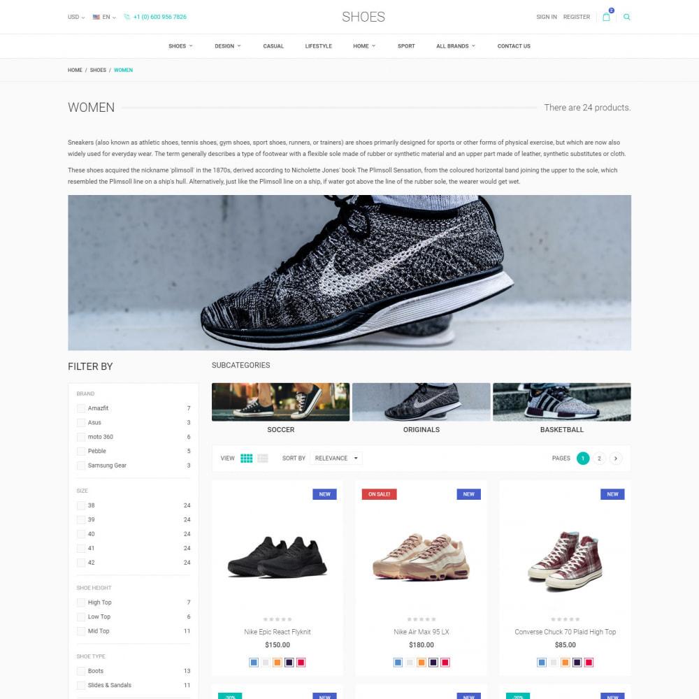 theme - Moda y Calzado - World Footwear - Zapatería - 4