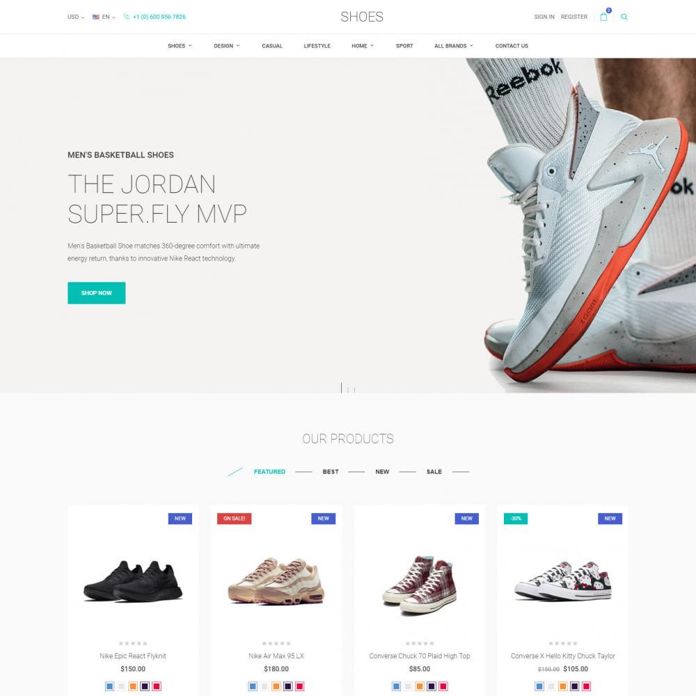 theme - Moda & Calçados - World Footwear - Loja de Sapatos - 2