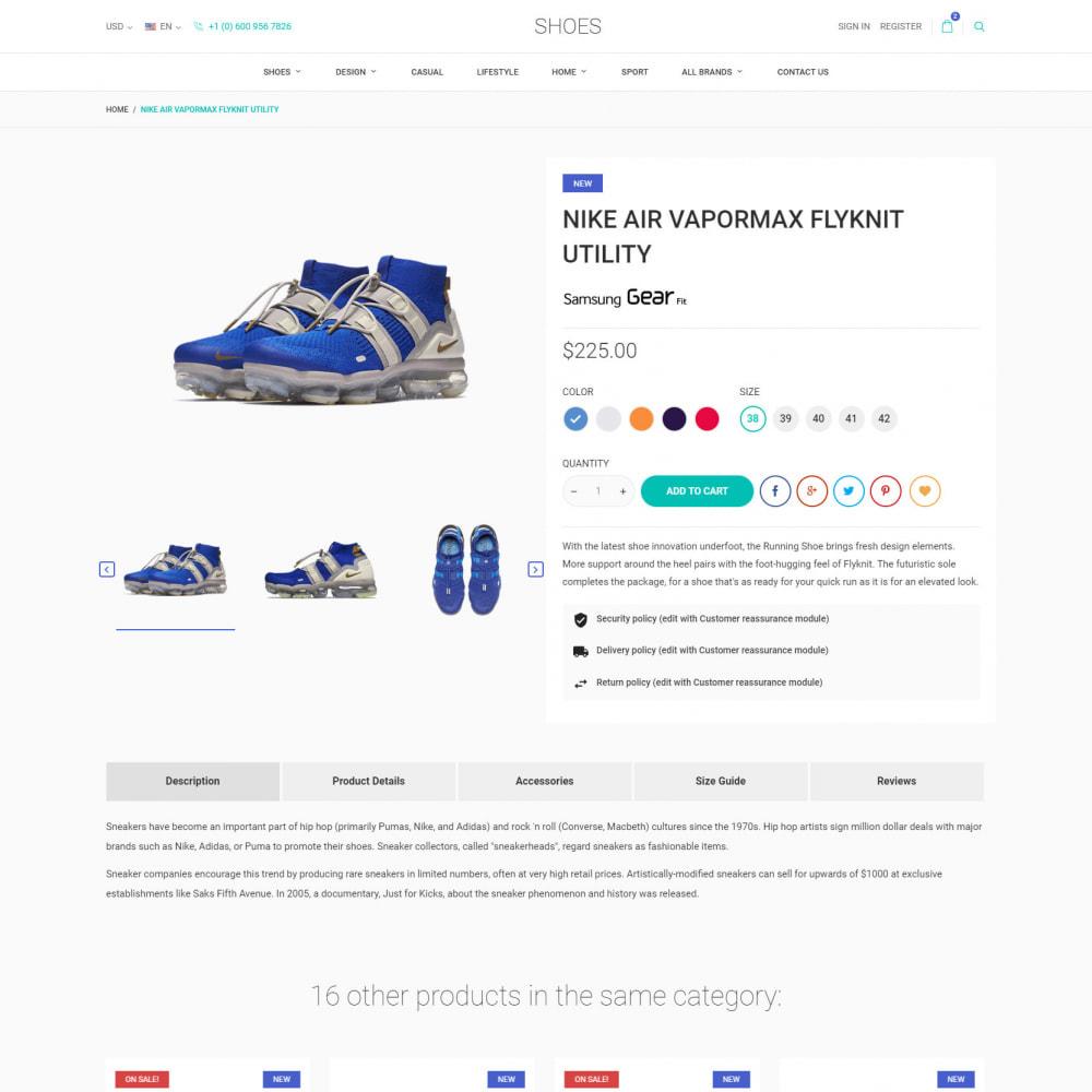 theme - Moda & Calçados - World Footwear - Loja de Sapatos - 6
