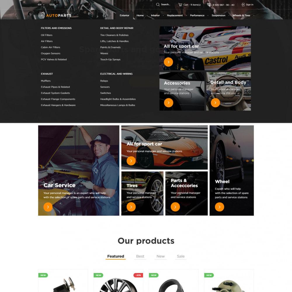 theme - Coches y Motos - Tienda De Autopartes - 5
