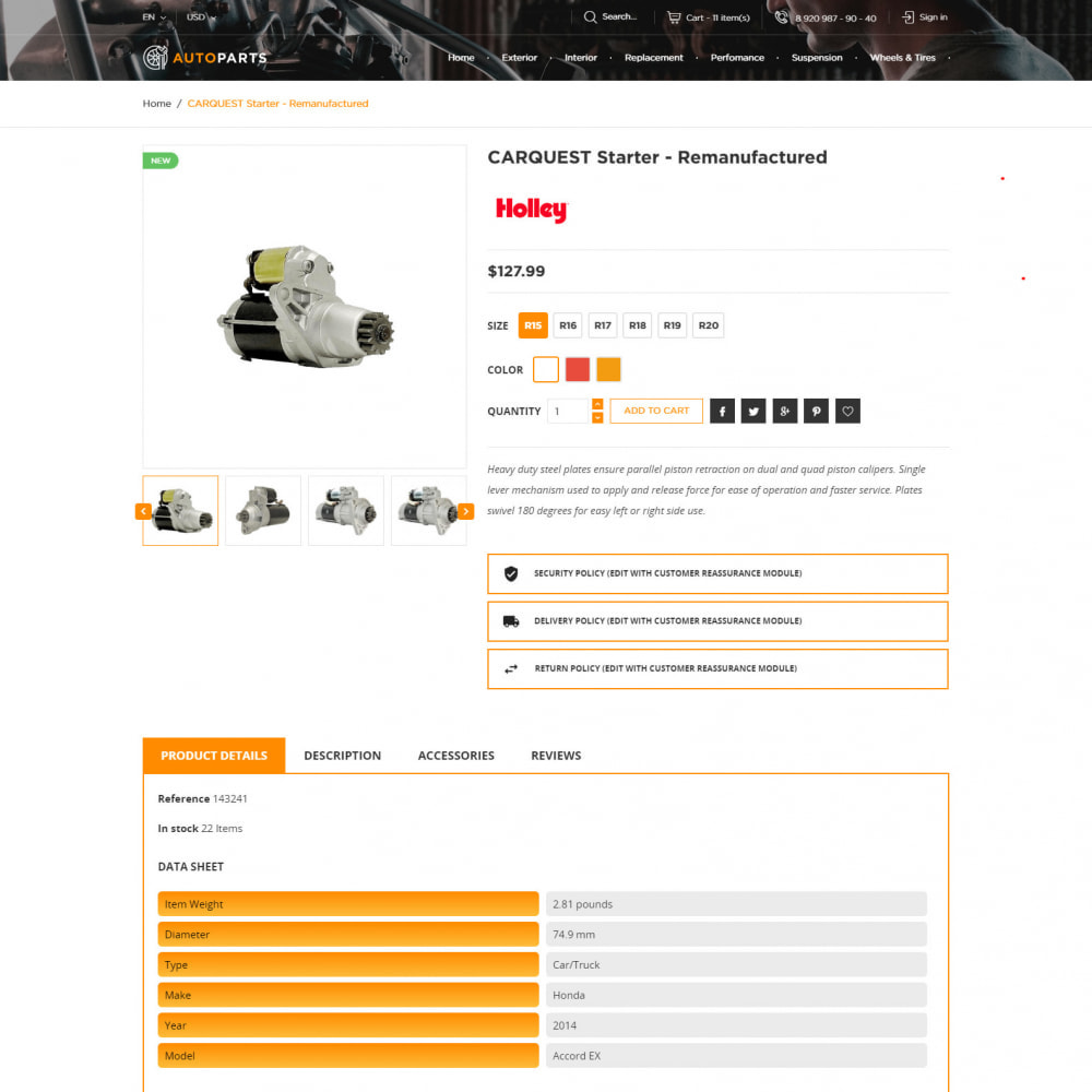 theme - Auto's & Motoren - Auto-Onderdelen Winkel - 6