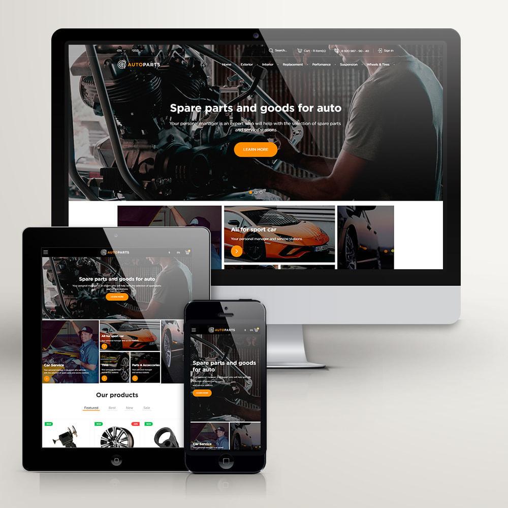 theme - Samochody - Magazyn Części Samochodowych - 3