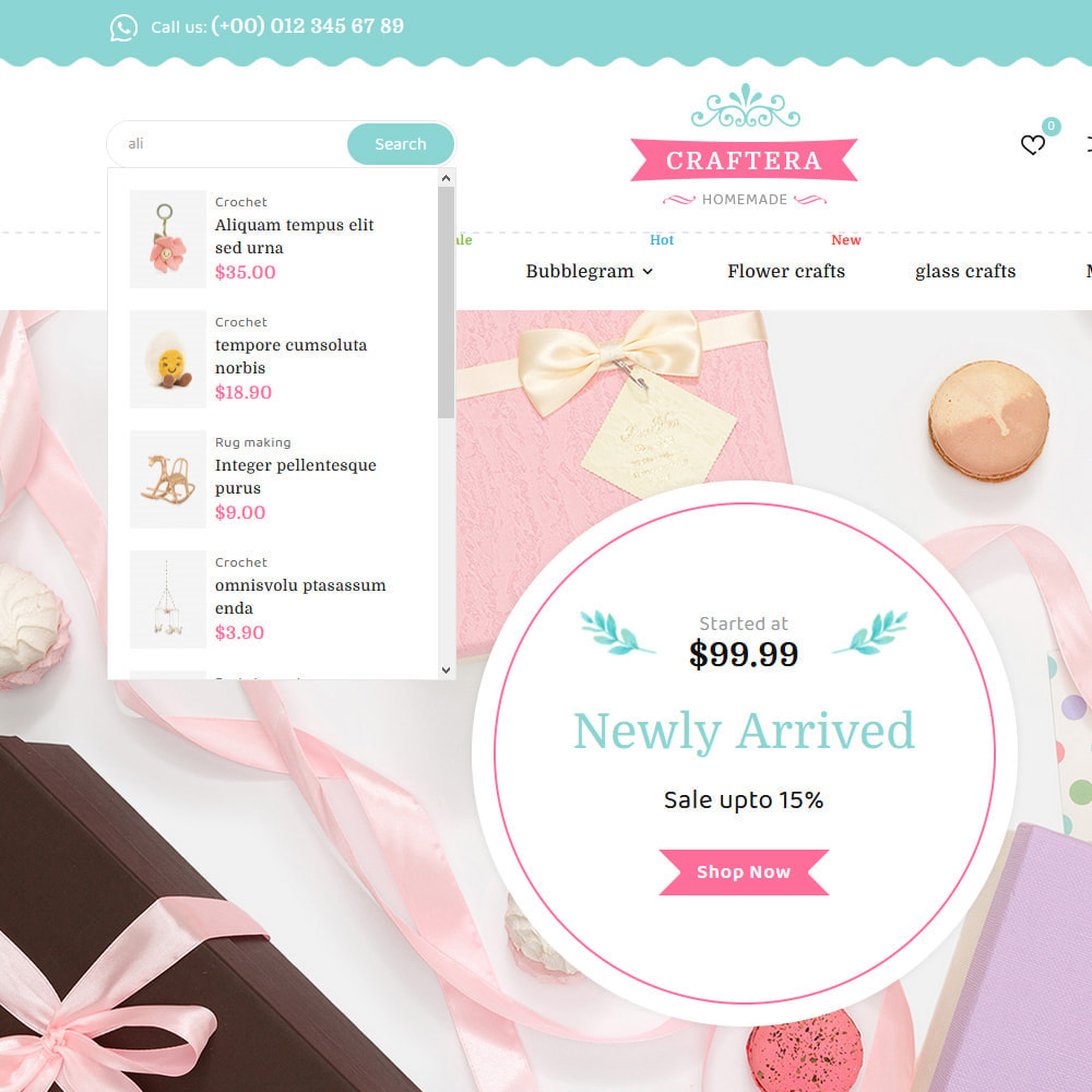 theme - Regalos, Flores y Celebraciones - Carftera - Gifts Flowers Celebrations Store - 14